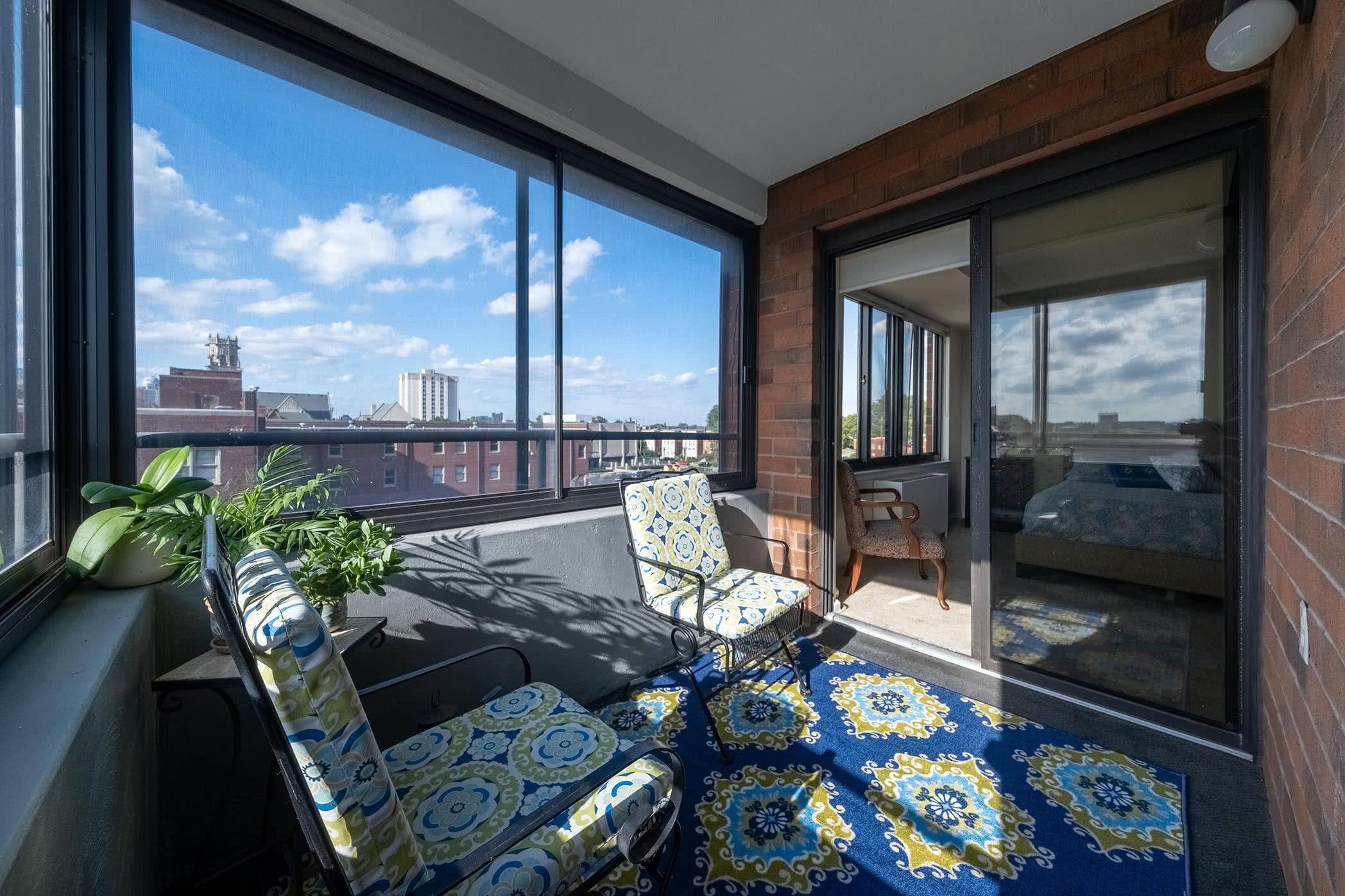 Apartment 419 interior