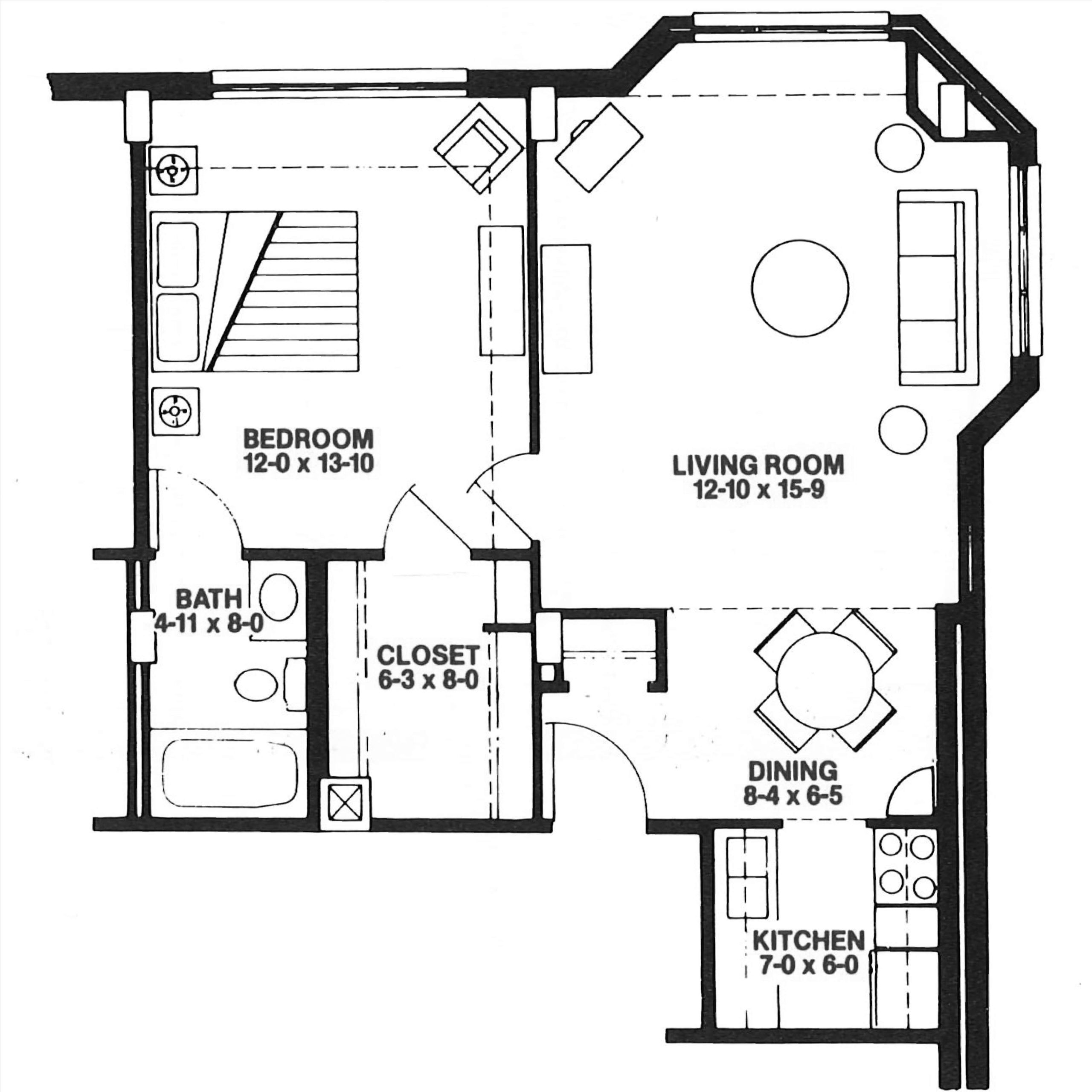 The Cardinal floor plan blueprint